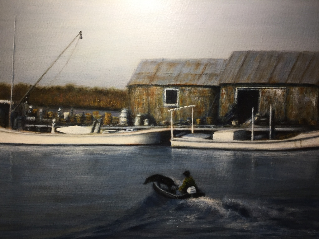 Image of art for the Hangin'Out Art Show May 15 16 Crisfield, MD